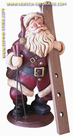 Kerst-wijnfles houder, 40x26x18 cm