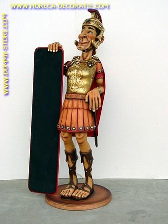 Ritter mit Angebotstafel, Höhe: 1,73 Meter