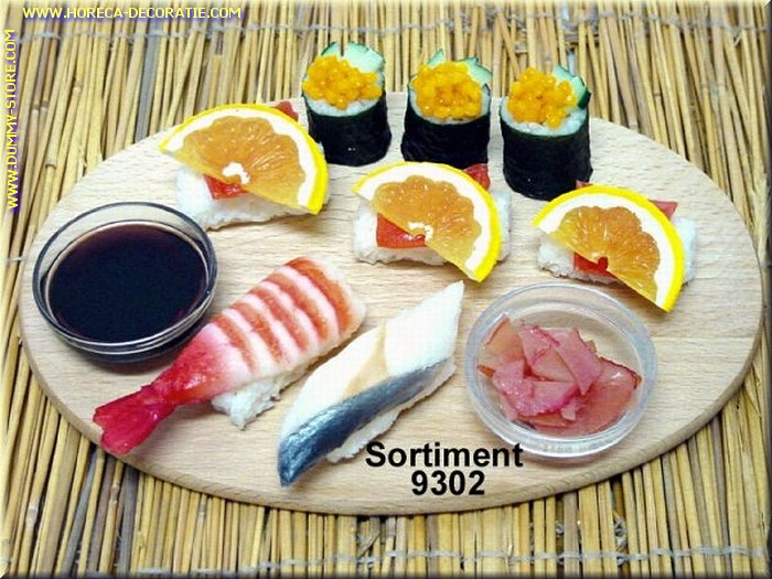 Sushi menu 2 (zonder bord) - namaak