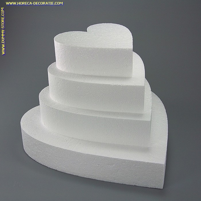 Taartvorm HARTVORMIG, Ø 400 mm, H: 70 mm