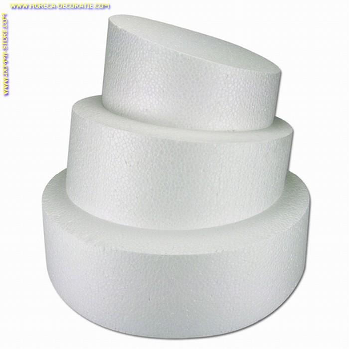 Taartvorm ROND-SCHUIN, Ø 300 mm, H: 60-100 mm