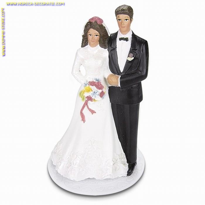 Bruidspaar Klassiek met Bloemen