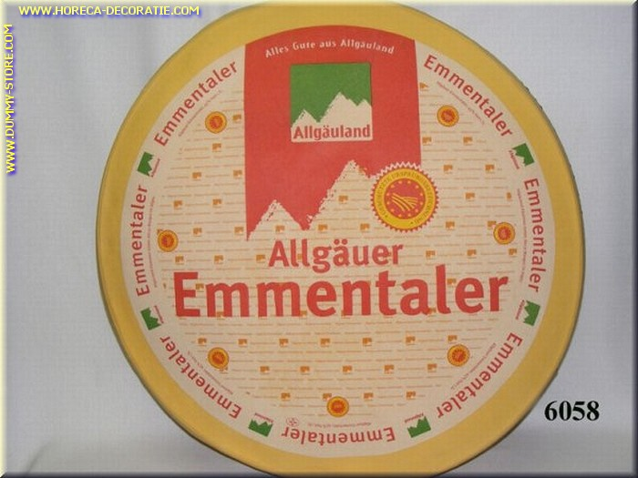 Allgäuer Emmtaler, heel - namaak