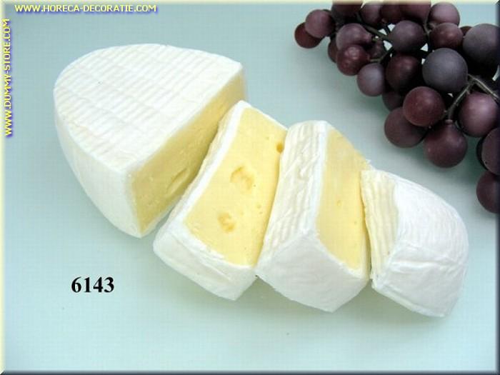 Baron-Käse m. 3 Stücken - Attrappe