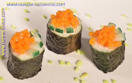 Maki Sushi met Kaviaar en Augurken (dummy)