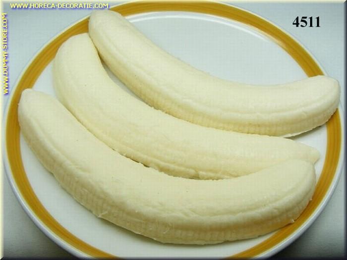 Bananen, gepeld, 3 stuks