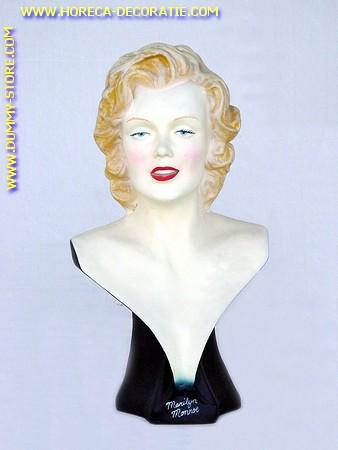 Marilyn Monroe, borstbeeld, hoogte: 0,59 meter