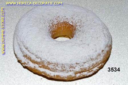 Donut white wit sugarpowder - dummy