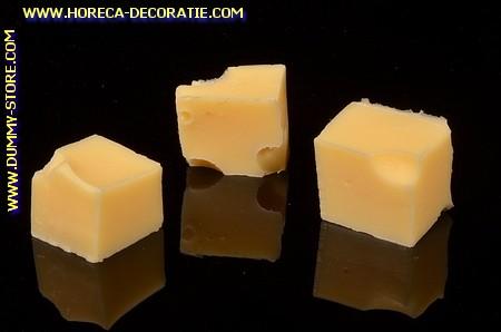 Käsewurfel, 3 stück - Attrappe