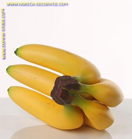 Bananen, tros met 5 bananen