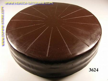 Chocoladetaart zonder versiering (dummy) Ø26cm