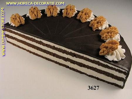 Chocoladetaart halve (Namaak) 26 cm