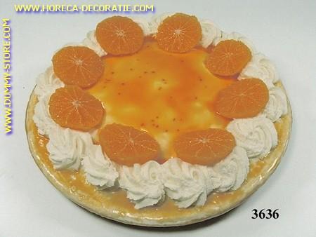 Sinaasappeltaart - dummy, Ø28cm