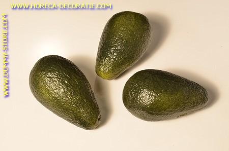 Avocado dummy, 3 stuks