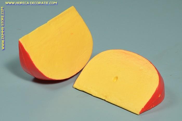 Edammer kaas, 2 stukken - 110 x 75 mm - Kaas dummy