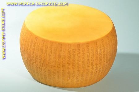 Parmigiano Reggiano, Kaas, heel - 440 x 210 mm - Kaas dummy