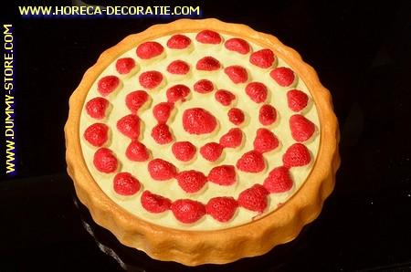 Aardbeien taart - Ø 230 mm - taartdummy