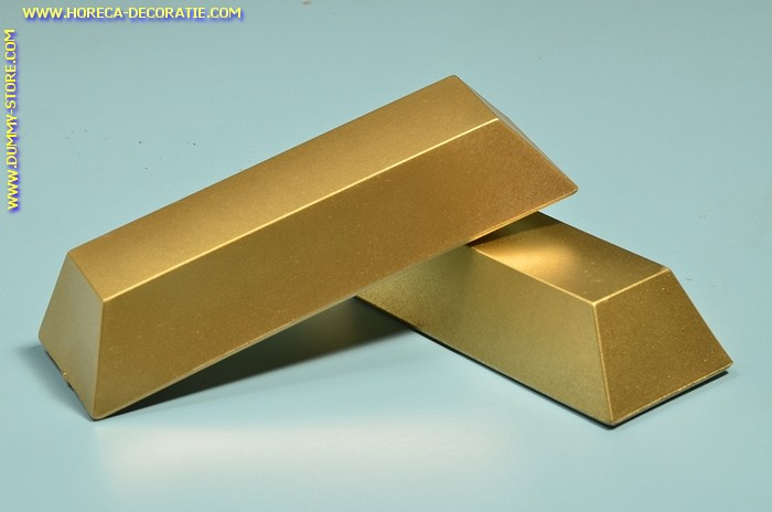 Staaf goud, decoratie  245 x 75 mm