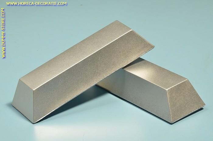 Staaf zilver, decoratie