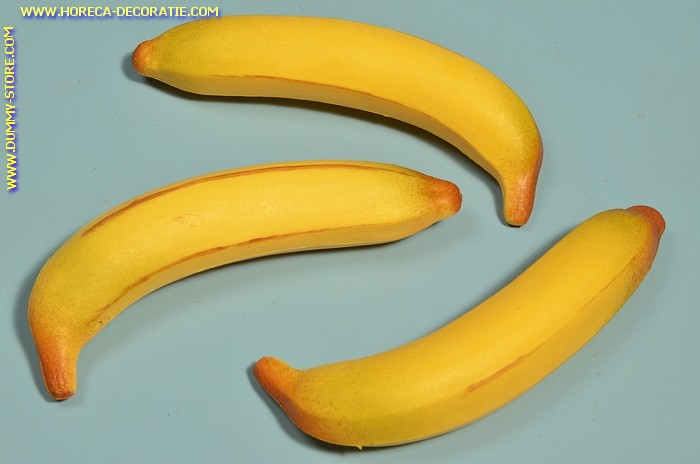 Bananas, large, 3 pcs. - dummy