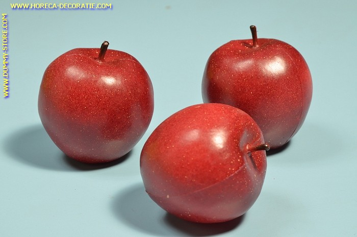 Apples red, 3 pcs. - dummy
