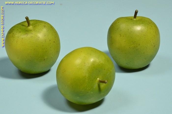 Groene Appels groot, 3 stuks (decoratie)