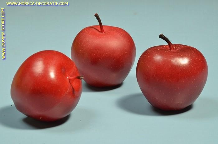 Apples, red, medium, 3 pcs. - dummy