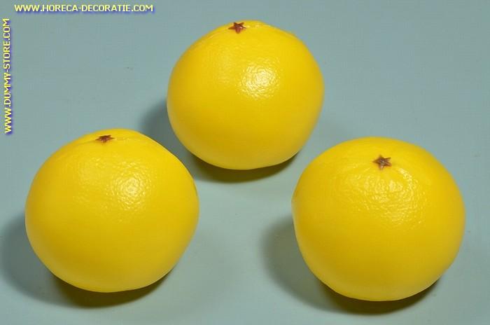 Grapefruit, 3 stuks (decoratie)