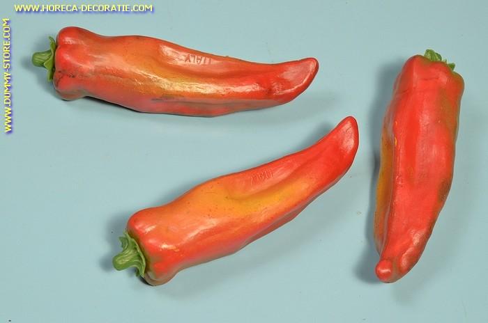 Peper, rood, 3 stuks (dummy)