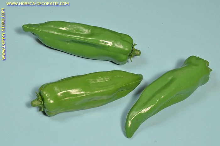 Peper, groen, 3 stuks (dummy)