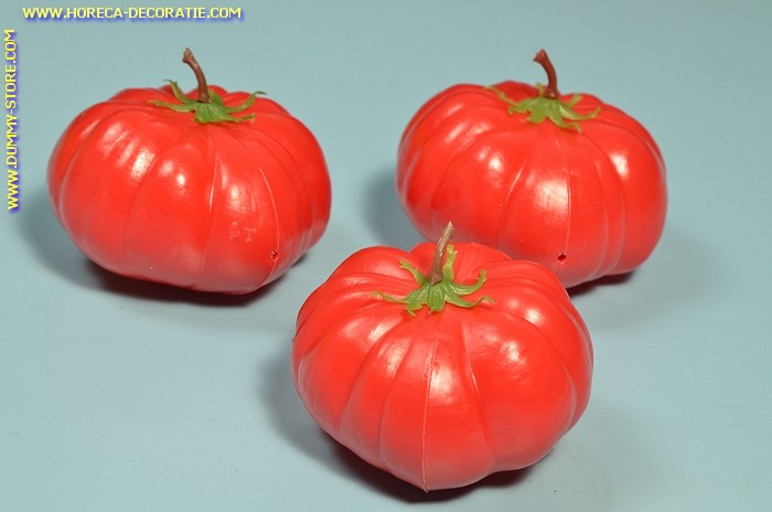 Tomaten, 3 stuks (namaak)  80x65 mm