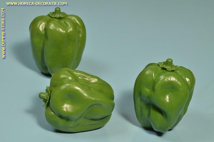 Paprika, groen, 3 stuks (dummy)