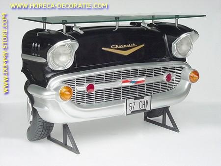 Chevrolet Car Bar, black