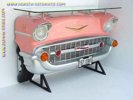 Chevrolet Car Bar, pink