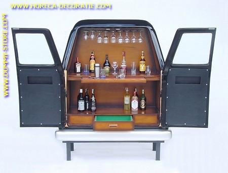 Auto Bar, dubbeldeurs