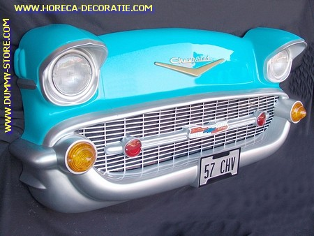 Chevrolet Wall Decor, turcoise