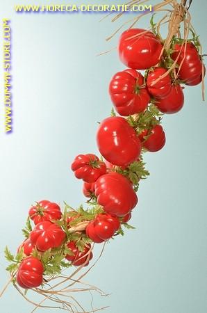 Tomaten, streng 22 stuks (dummy)  Lengte: 50 cm