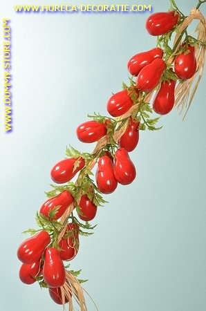 Baby Tomaten am Strang, 20 Stück - Attrappe