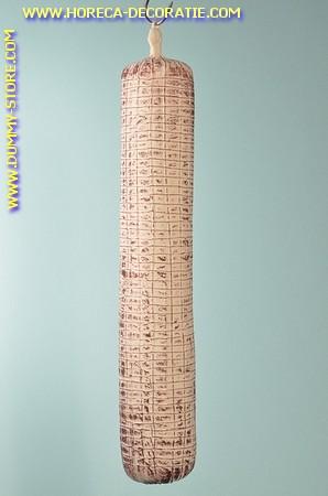 Witte Salami XXL (Salsiccione) L: 65 cm, Ø10 cm - dummy