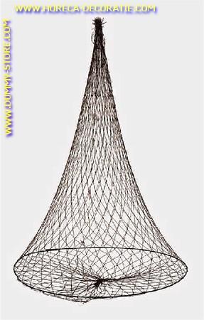 Visnet, (rond) leeg - 44x80 cm