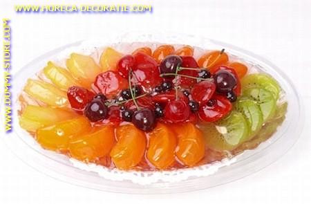 Fruit schaaltje, ovaal groot
