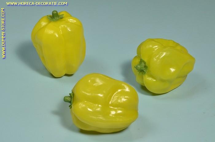 Paprika, groen-geel, 3 stuks (dummy)