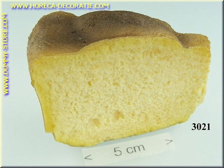 Cake, halve - namaak - dummy