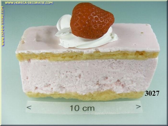Aardbeien taartje - namaak