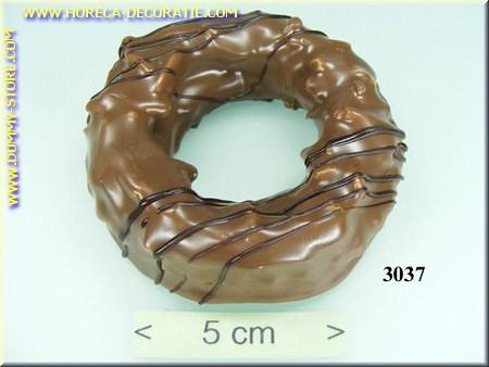 Chocolade koek, ring - namaak - dummy