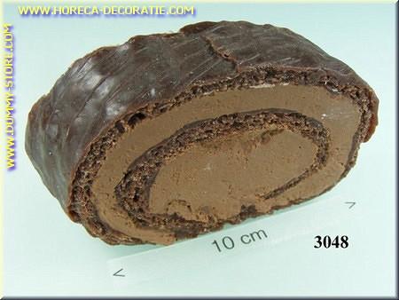 Chocolade koek, stuk - dummy