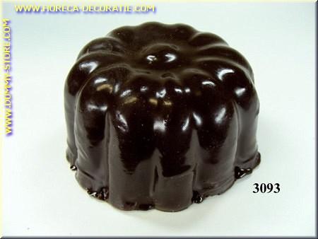 Chocolade cake, puur