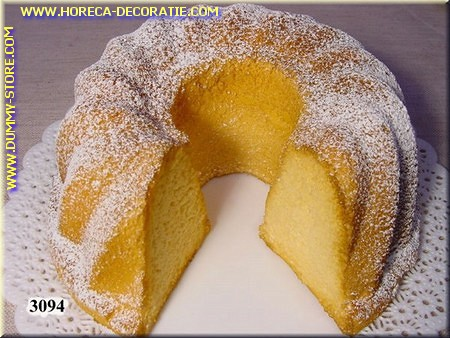 Cake met groot stuk eruit - Attrappe
