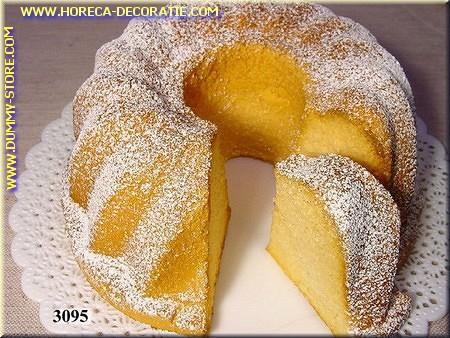 Cake met klein stuk eruit - Attrappe