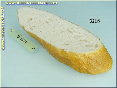 Plakje stokbrood - namaak - dummy
